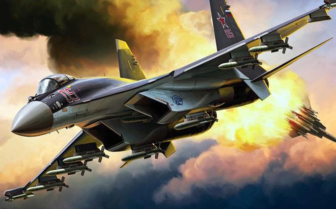 """Su-35 Nga cứng cựa: """"Tử thần trên không"""" mang đến cơn ác mộng tồi tệ nhất lúc nửa đêm!"""