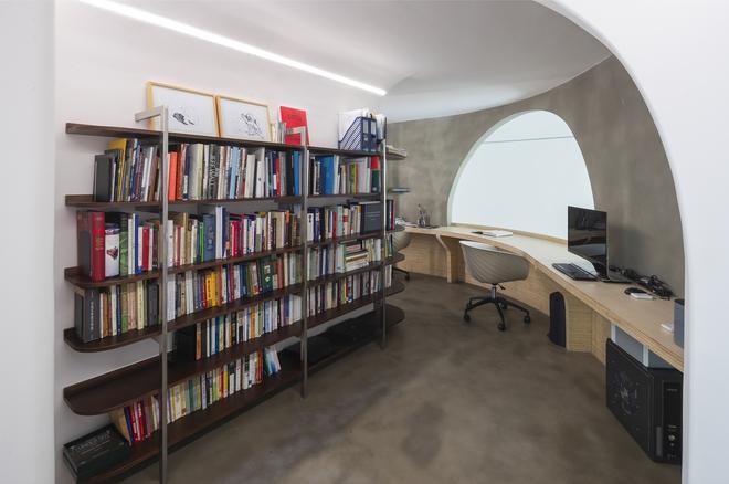 Chiêm ngưỡng căn nhà với lối thiết kế đương đại độc đáo tại Tp.HCM - Ảnh 7.