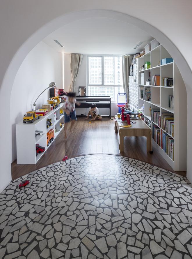 Chiêm ngưỡng căn nhà với lối thiết kế đương đại độc đáo tại Tp.HCM - Ảnh 12.