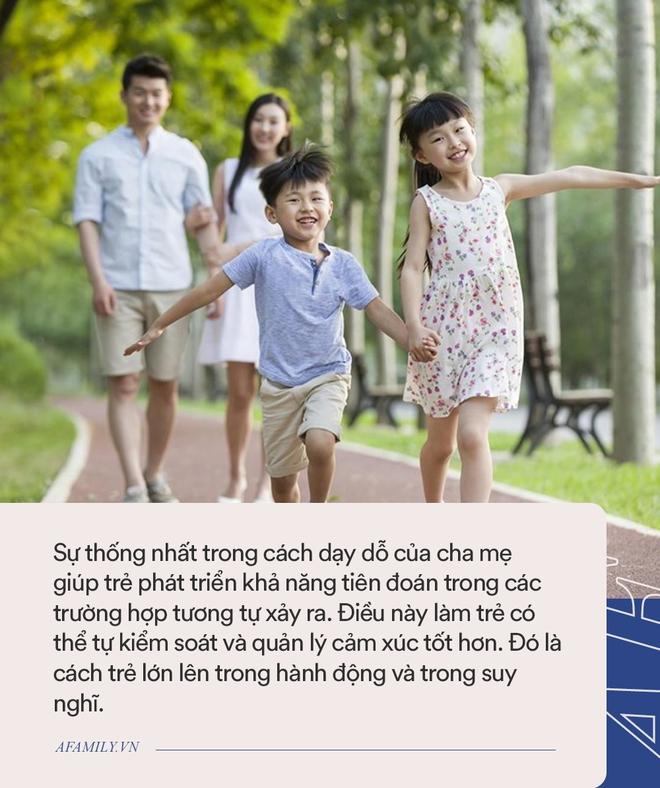 Nếu cha mẹ thống nhất được 3 điều này, trẻ sẽ trở thành người rất tuyệt vời - Ảnh 3.