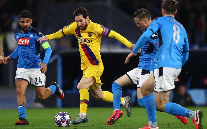 Lịch thi đấu Champions League: Dời trận Barca - Napoli khỏi Camp Nou