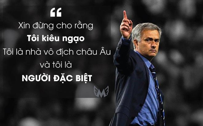 5 phát ngôn trứ danh của Jose Mourinho: Đúng chất