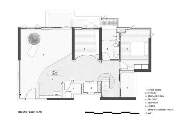 Chiêm ngưỡng căn nhà với lối thiết kế đương đại độc đáo tại Tp.HCM - Ảnh 15.