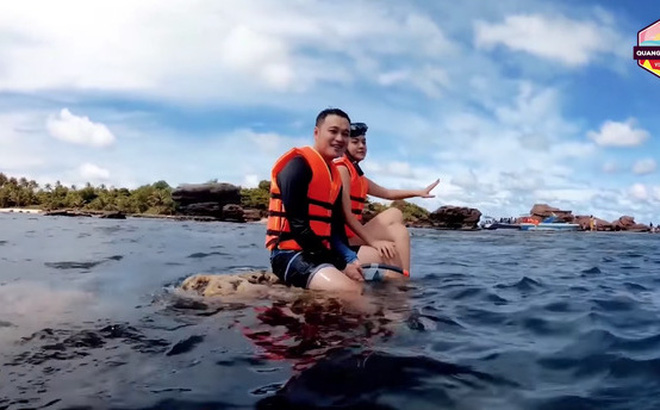Phạm Quỳnh Anh viết tâm thư xin lỗi sau sự cố ngồi lên rạn san hô, quay clip cùng Quang Vinh ở Phú Quốc