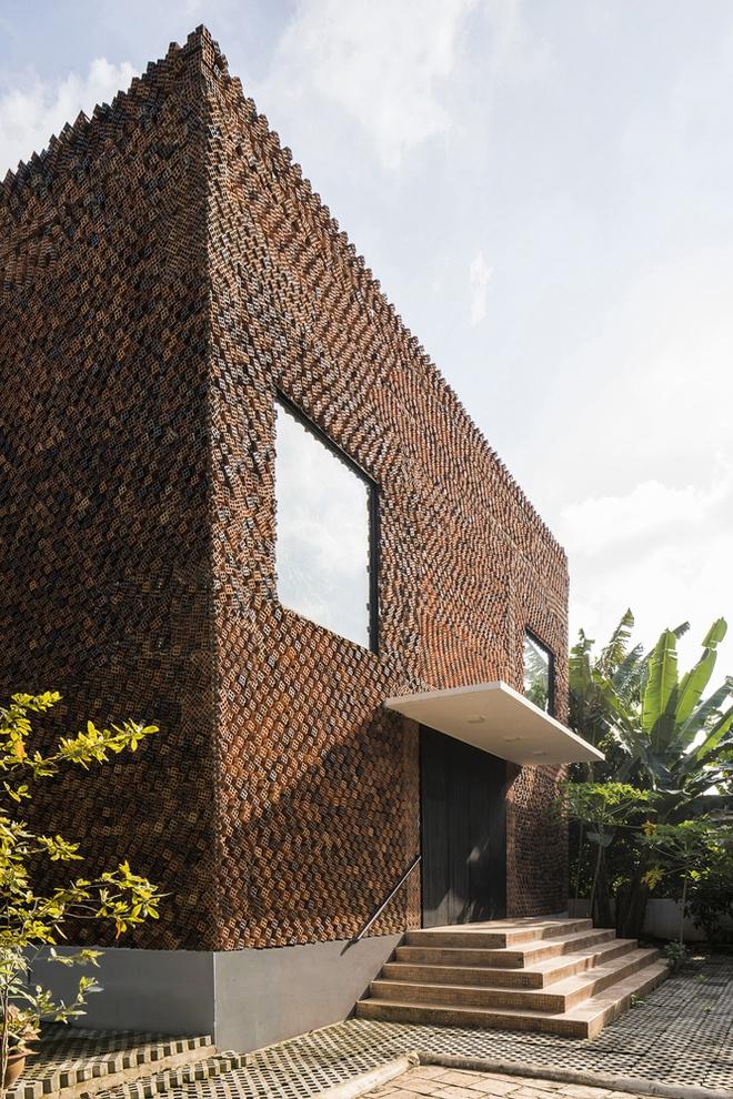Căn nhà có những bức tường thở tại Biên Hòa nhìn thôi cũng đủ bị mê hoặc - Ảnh 5.
