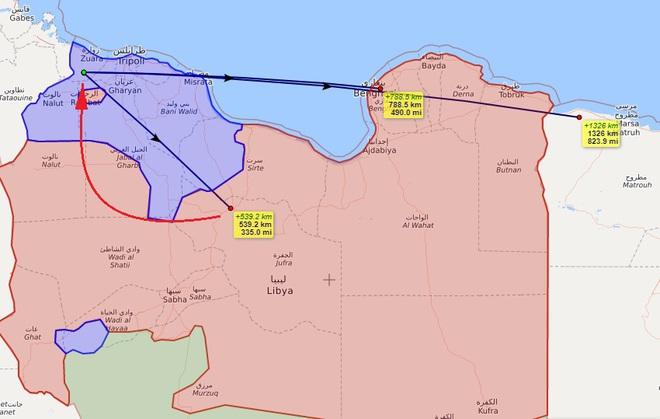 Phòng không Thổ chết đứng ở Khmeimim của Libya: Ai đã giăng thế trận luồn sâu đánh hiểm? - Ảnh 6.