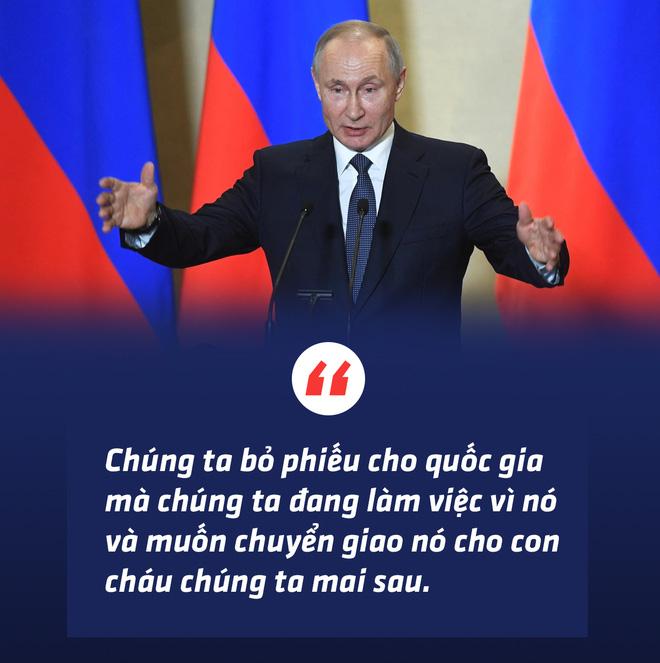 Thông qua sửa đổi hiến pháp, người Nga trao cho Tổng thống Putin sứ mệnh lịch sử - Ảnh 3.