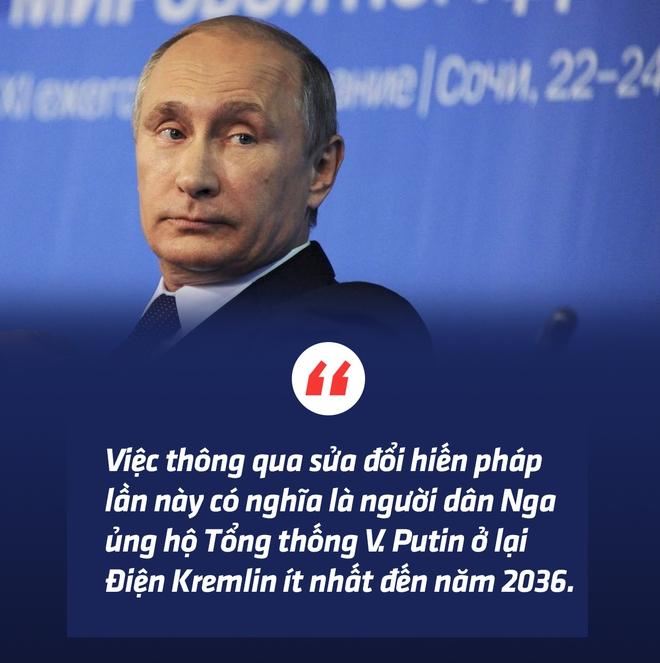 Thông qua sửa đổi hiến pháp, người Nga trao cho Tổng thống Putin sứ mệnh lịch sử - Ảnh 5.