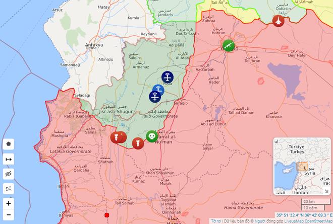 Thổ Nhĩ Kỳ nổi cơn thịnh nộ, quyết xóa sổ không quân của tướng Haftar - Máy bay bí ẩn không kích phiến quân, Mỹ đứng về phe Quân đội Syria? - Ảnh 1.