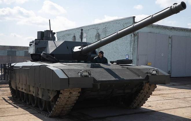 Nga chào bán siêu tăng T-14 Armata cho các đối tác nước ngoài - Ảnh 1.