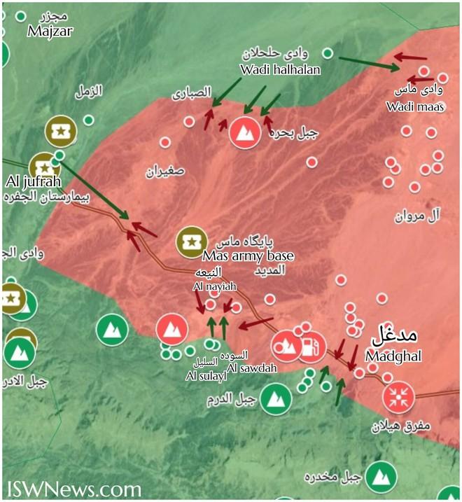 Thổ Nhĩ Kỳ nổi cơn thịnh nộ, quyết xóa sổ không quân của tướng Haftar - Máy bay lạ không kích Syria, quân khủng bố bị tấn công tới tấp - Ảnh 1.