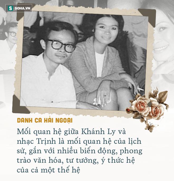 Cuộc gặp định mệnh và tình yêu kỳ lạ Khánh Ly dành cho Trịnh Công Sơn - Ảnh 4.
