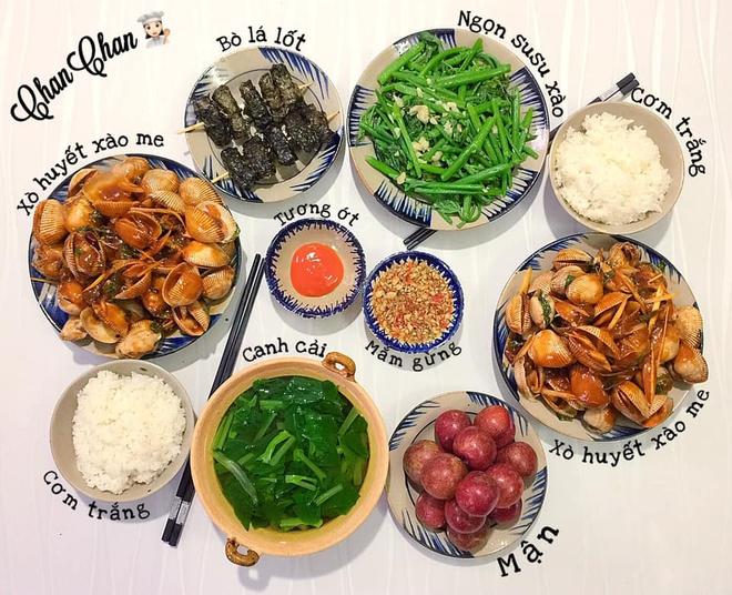 Khoe 30 mâm cơm chuẩn nhanh-ngon-bổ-rẻ, vợ đảm Hà Nội tiết lộ cả bí quyết nấu ăn thần tốc khiến hội chị em trầm trồ - ảnh 4