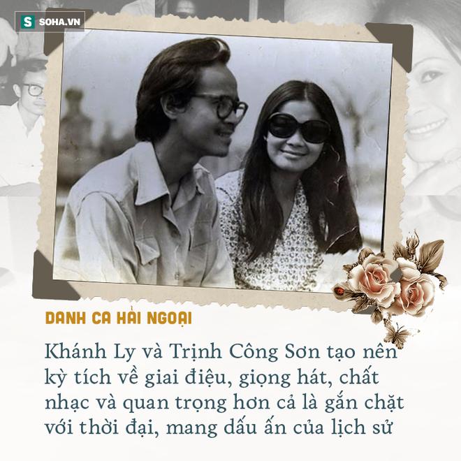 Cuộc gặp định mệnh và tình yêu kỳ lạ Khánh Ly dành cho Trịnh Công Sơn - Ảnh 6.