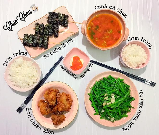 Khoe 30 mâm cơm chuẩn nhanh-ngon-bổ-rẻ, vợ đảm Hà Nội tiết lộ cả bí quyết nấu ăn thần tốc khiến hội chị em trầm trồ - ảnh 5