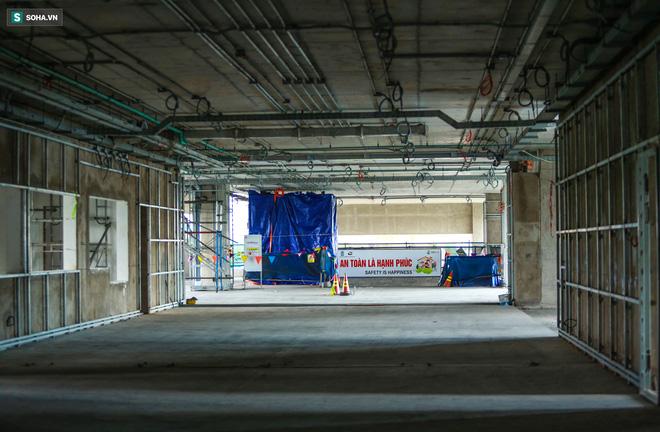 [ẢNH] Hình dáng ga metro khu Công Nghệ Cao lộ diện sau 8 năm xây dựng - Ảnh 9.