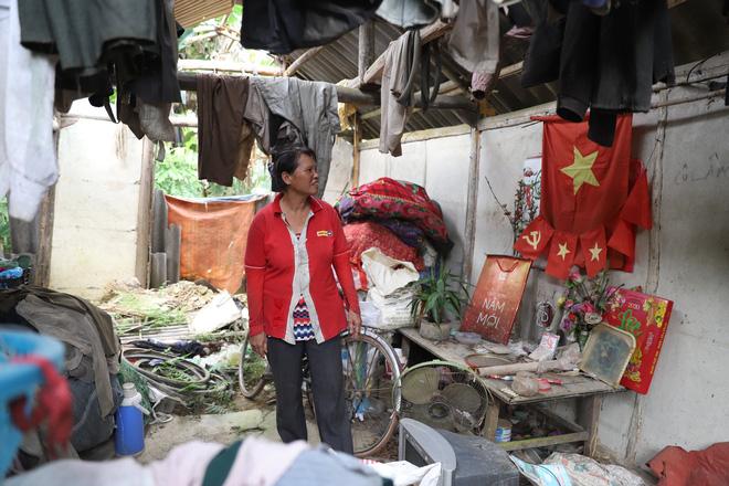 Người phụ nữ nhiều năm sống trong vườn chuối, ăn cây chuối, rau sắn qua ngày - Ảnh 8.