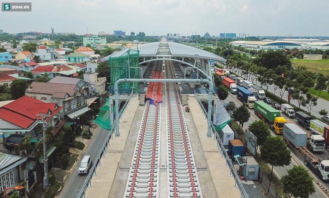 [ẢNH] Hình dáng ga metro khu Công Nghệ Cao lộ diện sau 8 năm xây dựng - Ảnh 2.