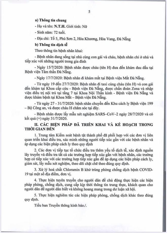 Lịch trình di chuyển của bệnh nhân Covid-19 trẻ tuổi ở Đà Nẵng - Ảnh 5.