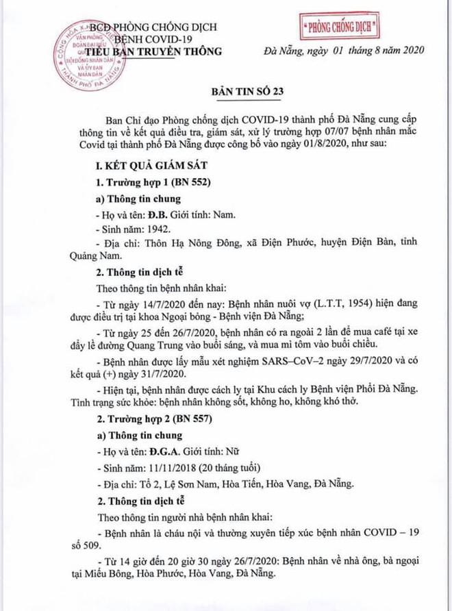 Lịch trình di chuyển của bệnh nhân Covid-19 trẻ tuổi ở Đà Nẵng - Ảnh 1.