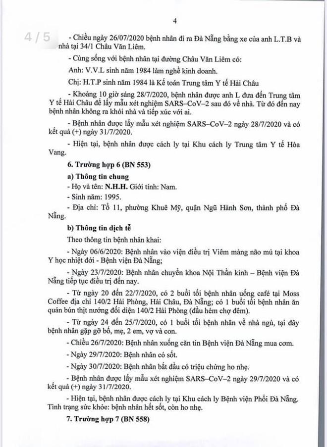Lịch trình di chuyển của bệnh nhân Covid-19 trẻ tuổi ở Đà Nẵng - Ảnh 4.