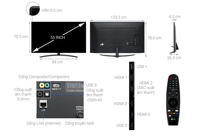 Nhiều mẫu TV 55 inch 4K giảm giá hàng chục triệu đồng - Ảnh 2.