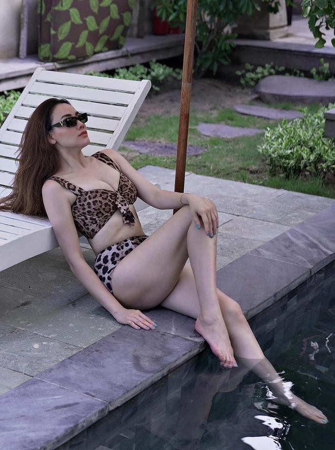 Vẻ gợi cảm, nuột nà của Trang Nhung dù đã sinh 2 con cho chồng đại gia - Ảnh 11.