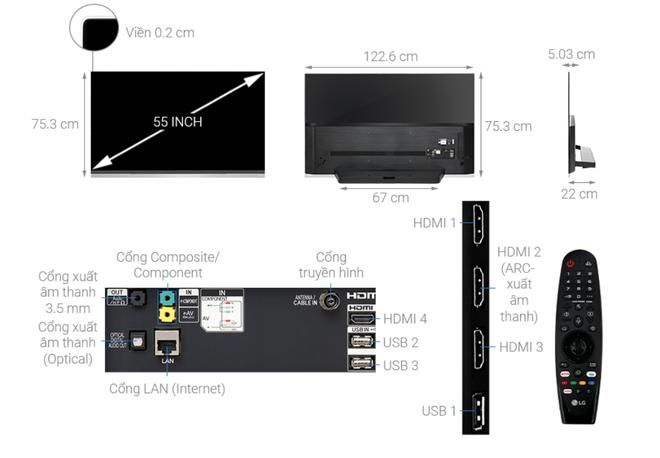 Nhiều mẫu TV 55 inch 4K giảm giá hàng chục triệu đồng - Ảnh 1.