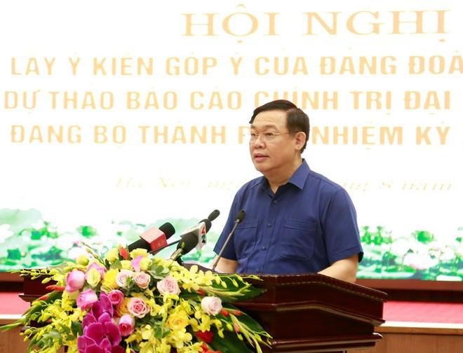 Hà Nội cần tiếp tục phát triển theo hướng thành phố trong công viên - Ảnh 1.