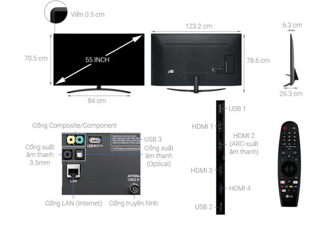 Nhiều mẫu TV 55 inch 4K giảm giá hàng chục triệu đồng - Ảnh 4.