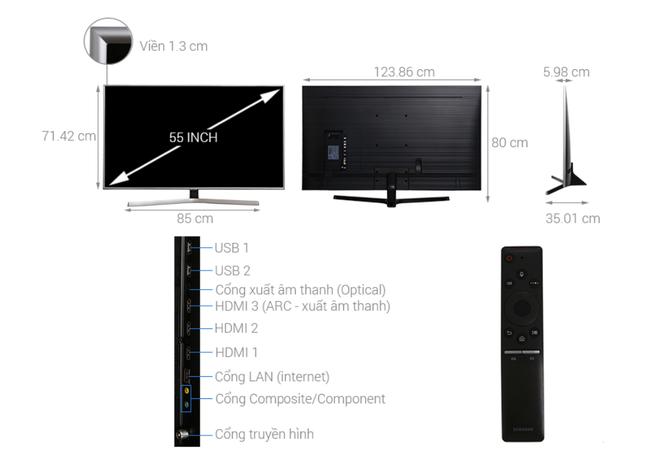 Nhiều mẫu TV 55 inch 4K giảm giá hàng chục triệu đồng - Ảnh 3.