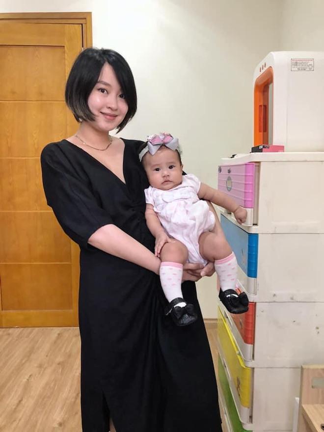 Cựu hot girl Mi Vân và công cuộc giảm 22kg sau sinh, lấy lại nhan sắc trông mòn con mắt - Ảnh 4.