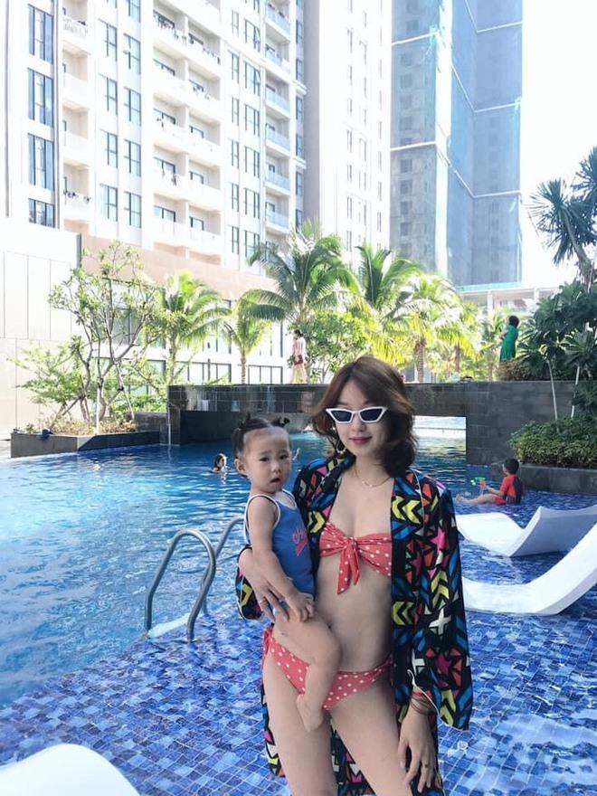 Cựu hot girl Mi Vân và công cuộc giảm 22kg sau sinh, lấy lại nhan sắc trông mòn con mắt - Ảnh 1.