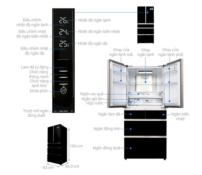 """Nhiều mẫu tủ lạnh dung tích lớn tiếp tục giảm giá """"kịch sàn"""" - Ảnh 2."""
