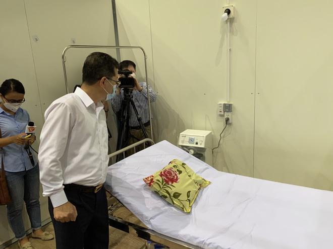 Tiết lộ bất ngờ về bệnh viện dã chiến Tiên Sơn trước giờ mở cửa đón bệnh nhân Covid-19 - Ảnh 3.
