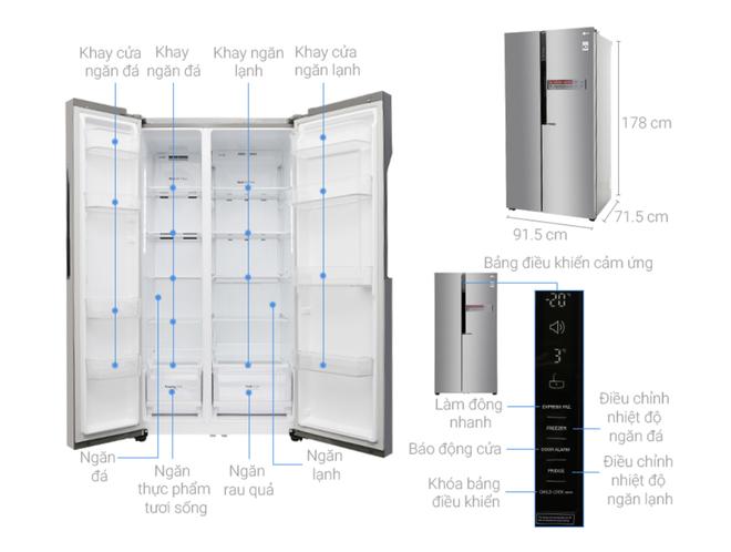 """Nhiều mẫu tủ lạnh dung tích lớn tiếp tục giảm giá """"kịch sàn"""" - Ảnh 4."""