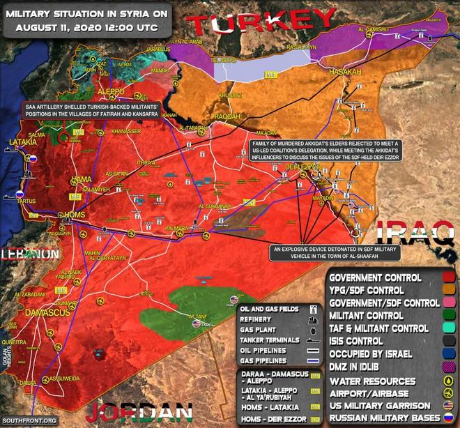Căn cứ Khmeimim gặp nguy, tên lửa Nga bắn hạ hàng loạt mục tiêu - Bộ trưởng Israel cảnh báo chiến tranh - Ảnh 1.
