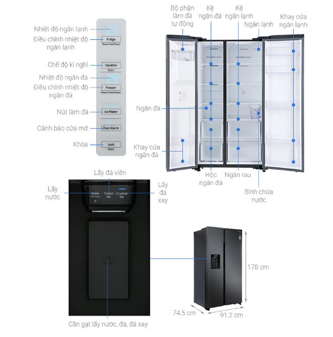 """Nhiều mẫu tủ lạnh dung tích lớn tiếp tục giảm giá """"kịch sàn"""" - Ảnh 1."""