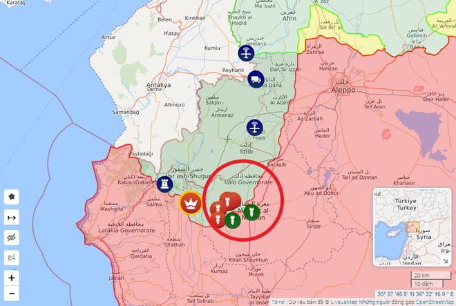 Căn cứ Nga bị tấn công, tên lửa hạ gục hàng loạt mục tiêu - QĐ Syria dằn mặt quân Thổ bằng siêu rocket - Ảnh 1.