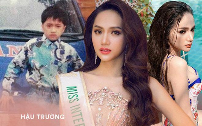 Bên cạnh hành trình đi tìm tình yêu, Hương Giang còn có một hành trình thay đổi đáng nể: Từ cậu bé tóc ngắn đến biểu tượng nhan sắc chuyển giới quốc tế