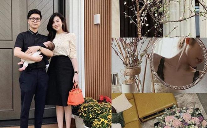 Hé lộ cuộc sống 'chanh sả' của Á hậu Tú Anh sau khi lấy chồng thiếu gia: Hàng hiệu xa xỉ, nhà cao cửa rộng