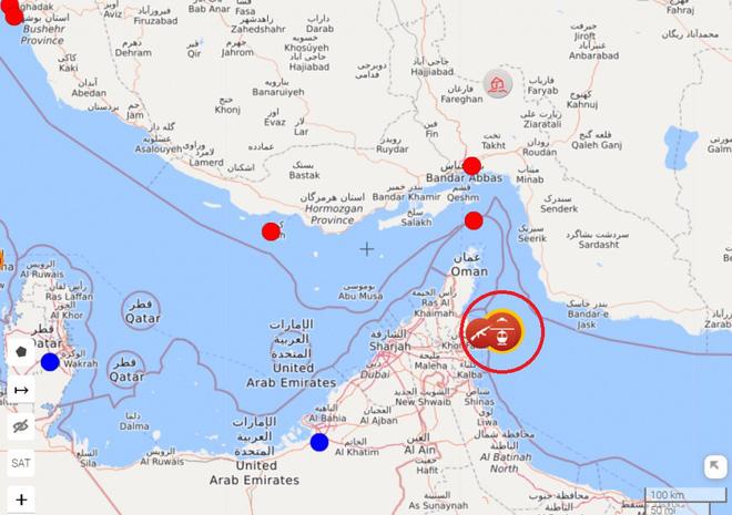 NÓNG: Bộ chỉ huy Mỹ CENTCOM xác nhận Iran đột kích bắt giữ một tàu dầu - Căng thẳng tột độ - Ảnh 1.