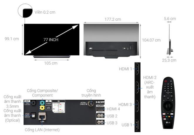 Top 5 SmartTV hạng sang đang giảm giá sâu  - Ảnh 5.