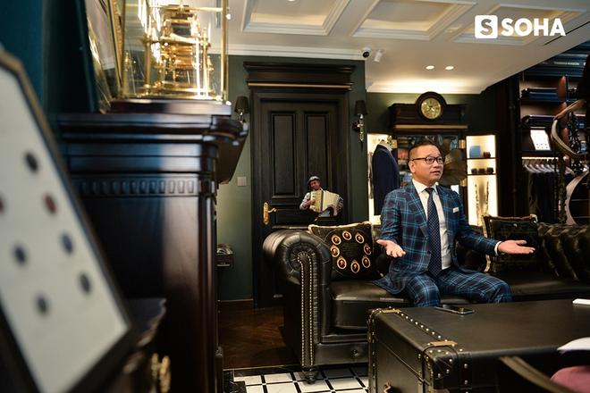 Chương Tailor: Bộ vest 600 triệu và tham vọng đặt dấu chân lên kinh đô thời trang Anh quốc - Ảnh 11.