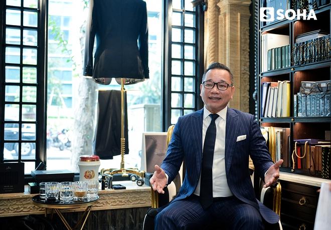 Chương Tailor: Bộ vest 600 triệu và tham vọng đặt dấu chân lên kinh đô thời trang Anh quốc - Ảnh 3.
