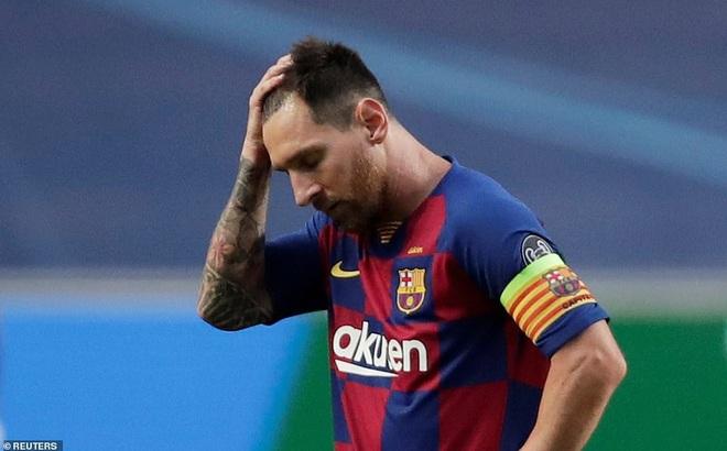 Messi sốc nặng, Barcelona thất bại kinh hoàng 2-8 dưới tay Bayern Munich