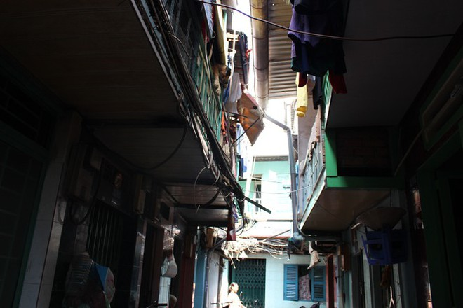 Khu nhà ổ chuột độc nhất tại trung tâm Sài Gòn - Ảnh 1.