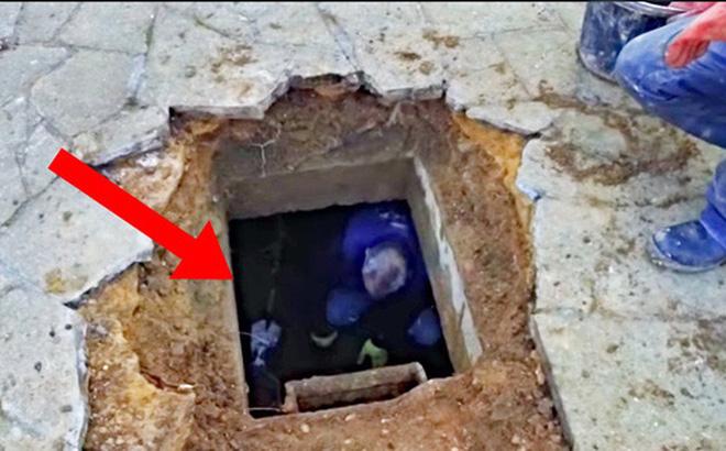 """Vừa chuyển về nhà mới, người đàn ông nghe âm thanh lạ phát ra từ lòng đất trước khi đào được """"kho báu"""" đặc biệt"""
