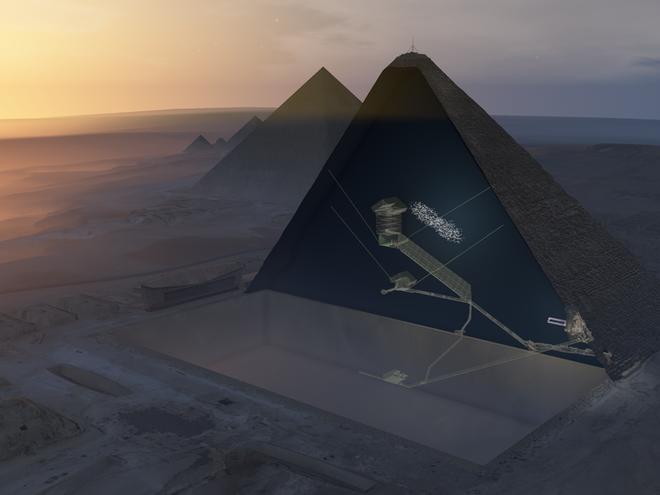 Giải mã bí ẩn đáng sợ trong kim tự tháp Ai Cập: Lăng mộ trống hoác, xác ướp đã đi đâu? - Ảnh 3.
