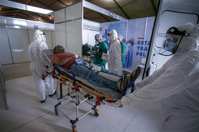 COVID-19 tới 6 giờ sáng 18/8: Thế giới trên 22 triệu ca bệnh, cuộc đua vaccine tăng tốc - Ảnh 12.